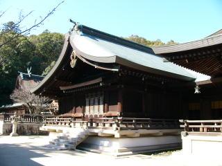 吉備津彦神社祭文殿