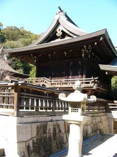 吉備津彦神社渡殿