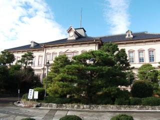 旧岡山県津山中学校本館