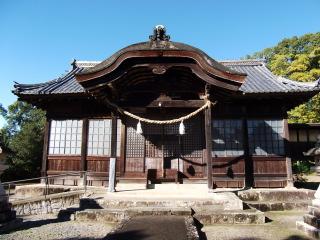 鶴山八幡宮拝殿