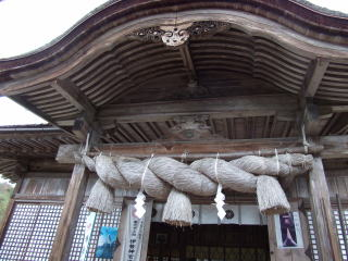 中山神社拝殿
