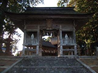 吉川八幡宮随神門