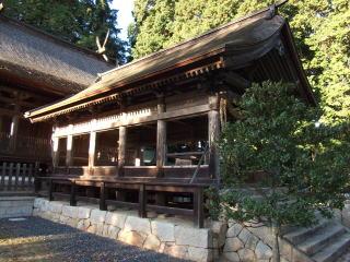 吉川八幡宮拝殿