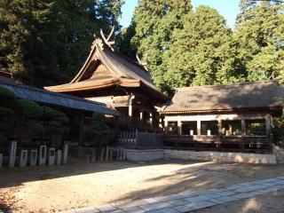 吉川八幡宮本殿