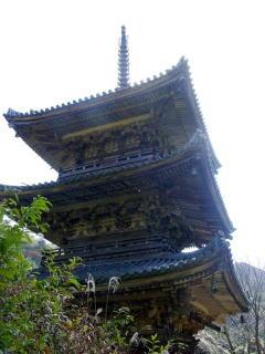 大滝山福生寺三重塔