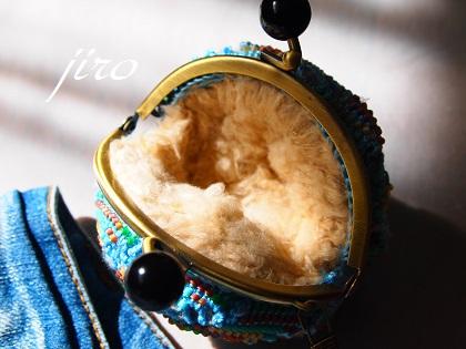 ビーズ編みがま口-カオスとコスモス.5