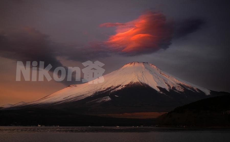 2013 01 01 富士山 紅い雲 D2x (158)JSS