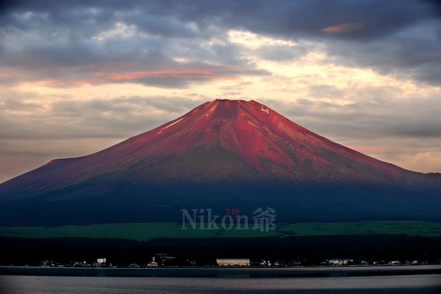 2014 08 03 山中 赤富士 D3x (7)R@sFN