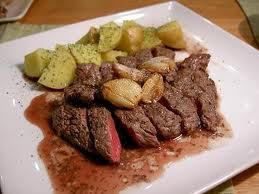 ガーリックステーキは男性ホルモン増強食