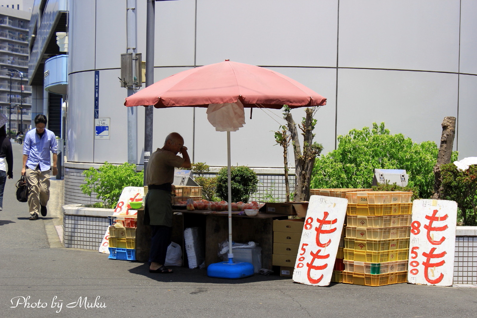 2014/07/26 露店(京急久里浜駅前:神奈川県横須賀市)