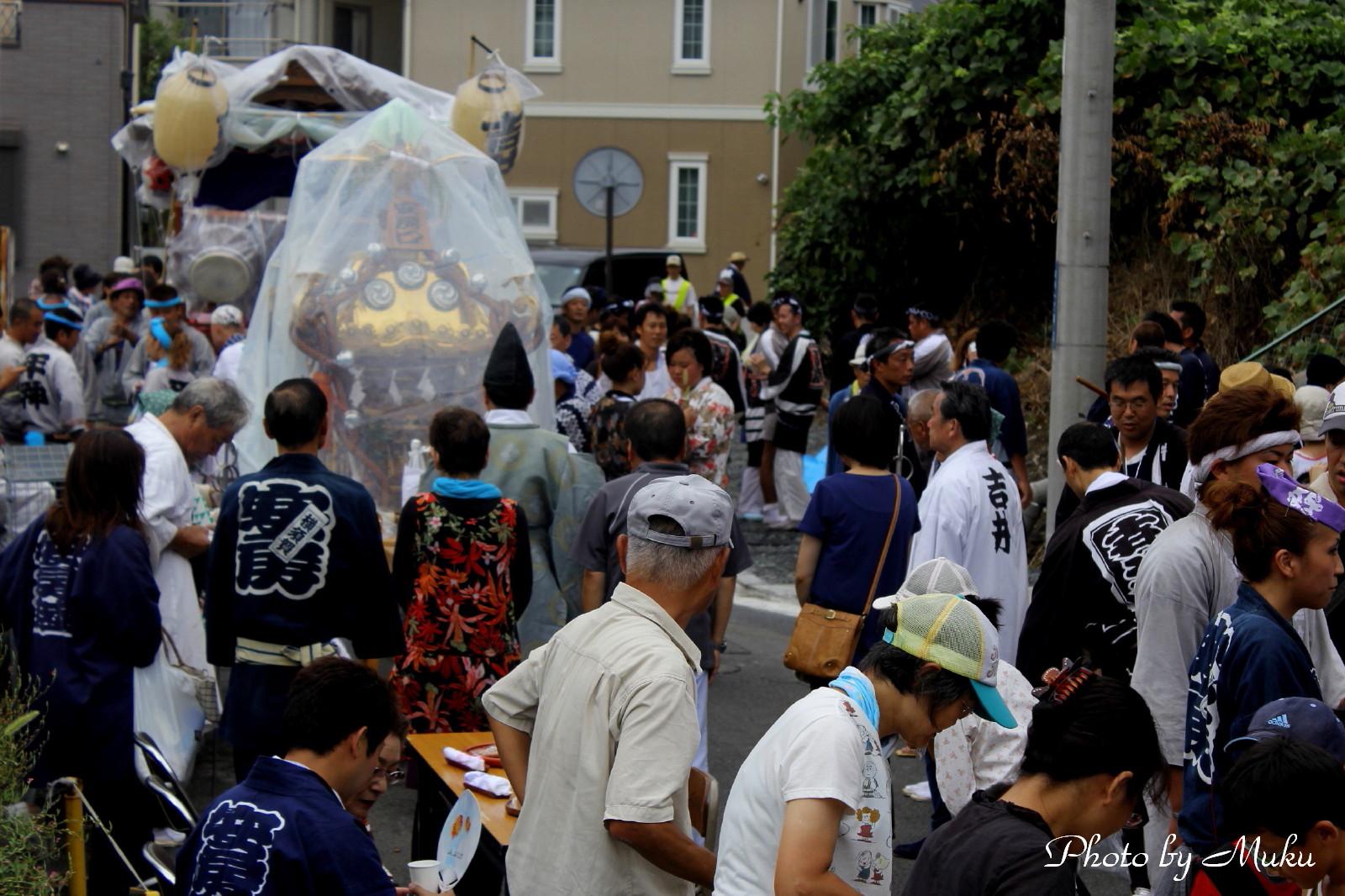 2014/08/10 神輿 (散歩道:神奈川県横須賀市)