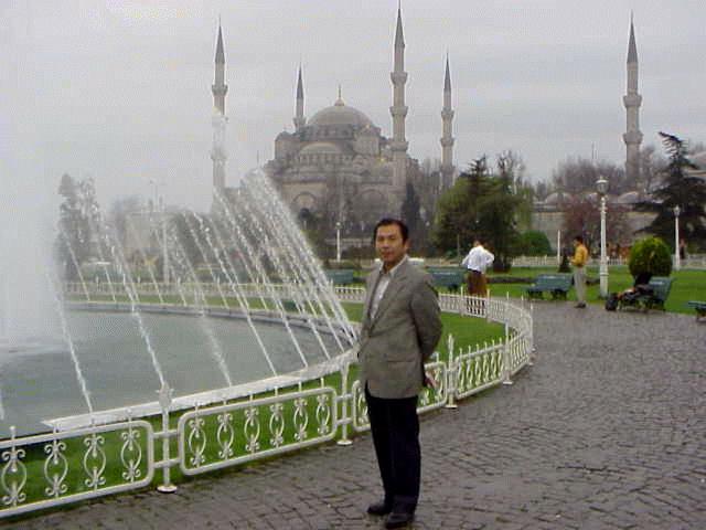 1999年夏 ブルーモスク (Istanbul: Turkey)