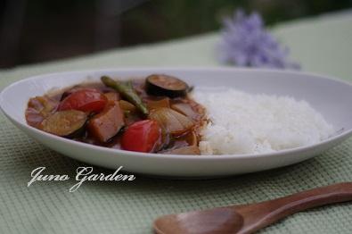 カレー夏野菜