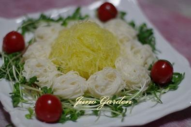 カボチャ素麺糸