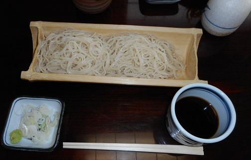 そば処 石墨 更級蕎麦①