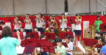 吹奏楽の演奏④
