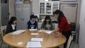 新1年生女子3人研修