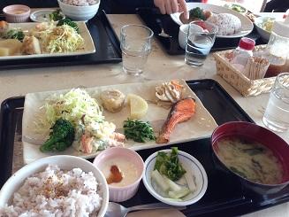 見晴らし茶屋定食&カレー