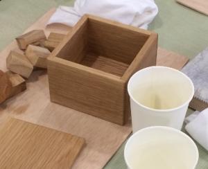 ミニ木工教室(完成)