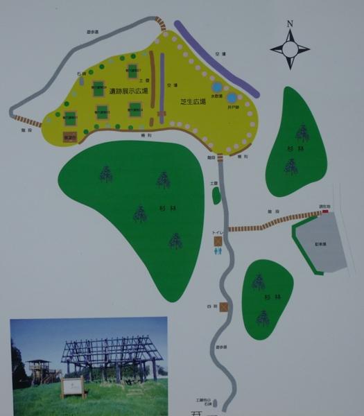 中里城地図