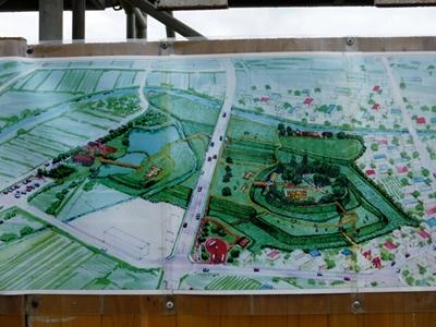 堀越城整備図