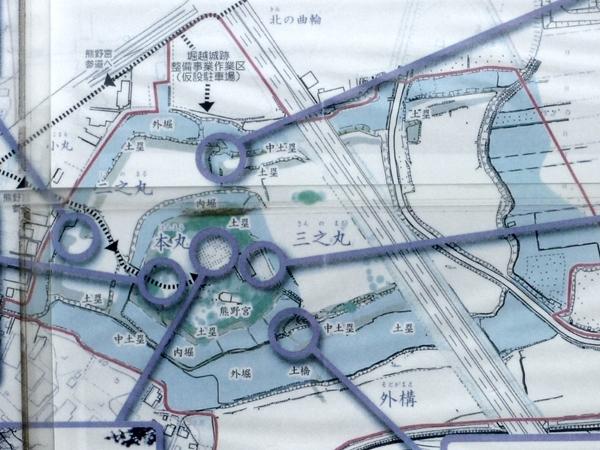堀越城地図2