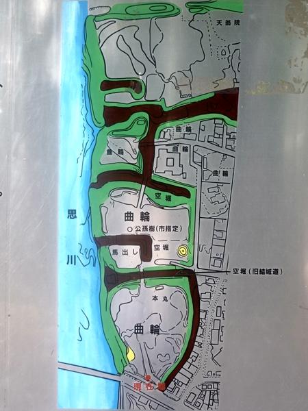 祇園城地図