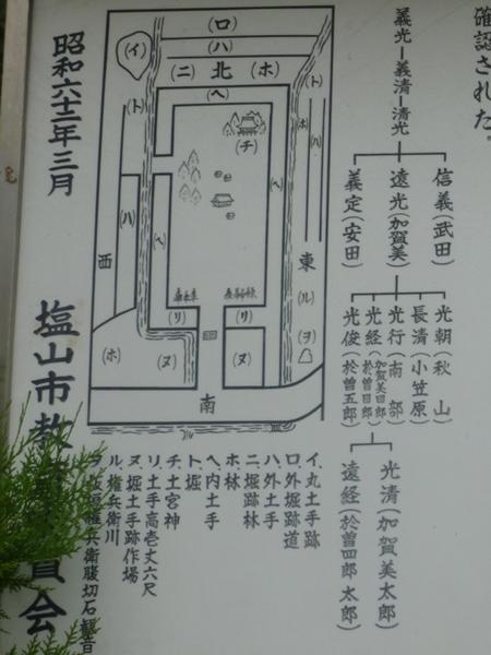 於曽屋敷地図