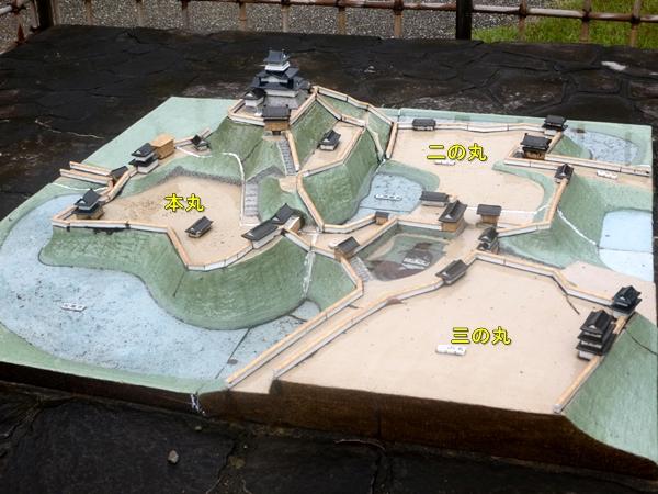 掛川城模型
