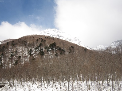 焼岳雪14