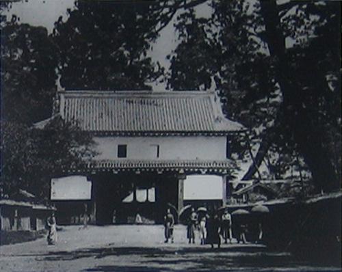 佐倉城大手門2