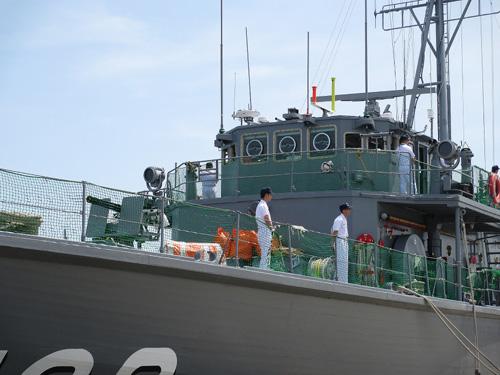 掃海管制艇まえじま 006