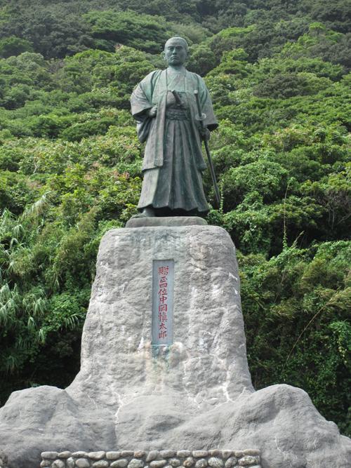 中岡慎太郎像