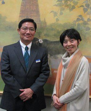 阪口先生と幸島