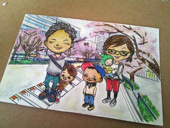 家族カード1