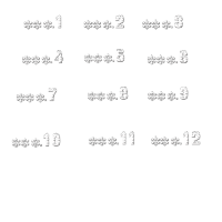 Snowy Caps+SnowCaps(数字)