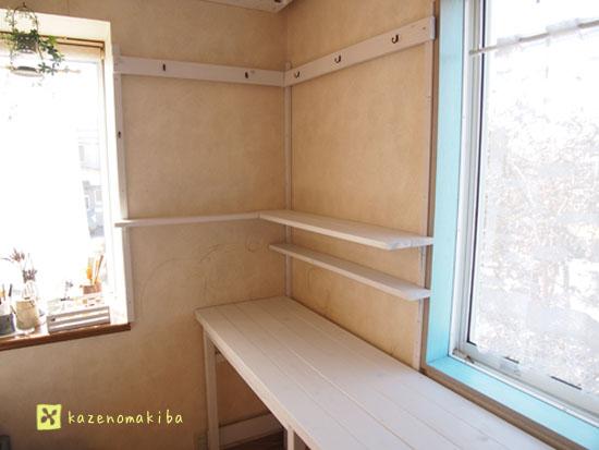 手作り物置棚
