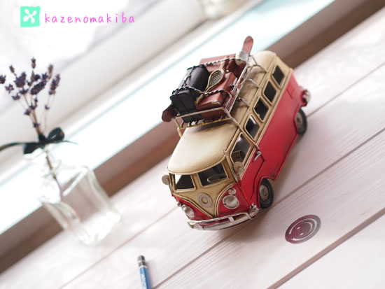 ブリキのバス