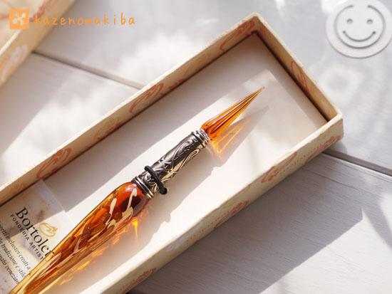 ボルトレッティのガラスペン