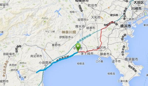 20140315hakoneyumoto route