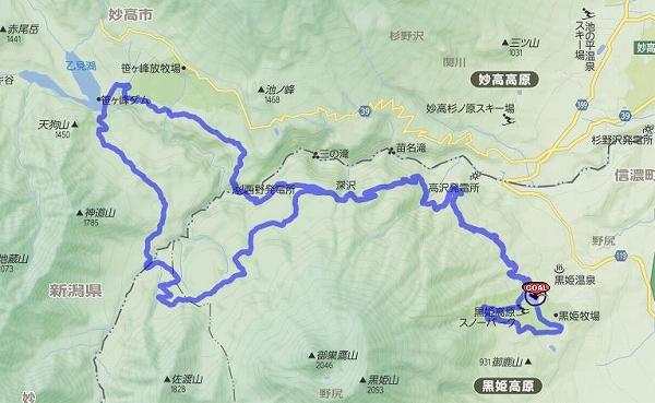 2014kurohime route