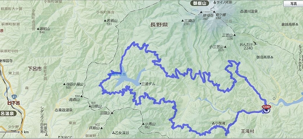 2014ontake route
