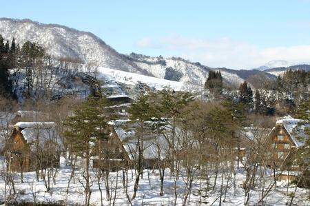 スキーやスノボーはちょと。。でも雪を楽しみたい!! 雪景色 世界遺産 白川郷合掌集落を見てみたい!! そんな方にはピッタリの冬旅行です ③