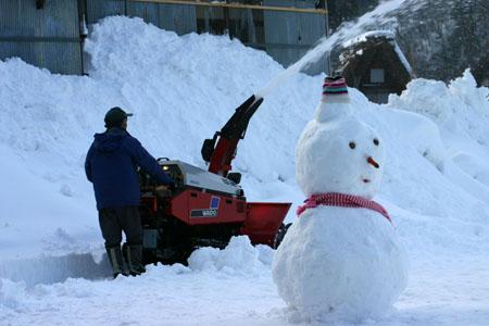 景色が素晴らしいと有名な世界遺産 白川郷でも一番綺麗な季節は冬と言れております~水墨画のような雪景色です~⑤