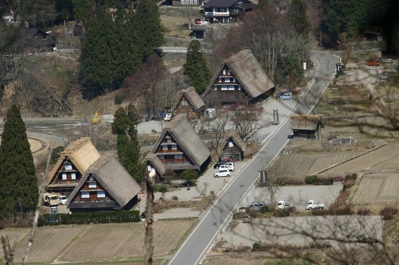 白川郷いよいよ桜の季節が到来!日本の春を満喫するならやっぱり桜&合掌造り風景 ①