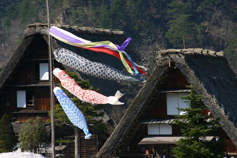 白川郷いよいよ桜の季節が到来!日本の春を満喫するならやっぱり桜&合掌造り風景 ④