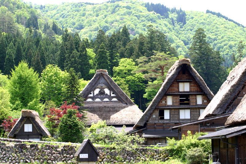 飛騨の大自然にすっぽり包まれた世界遺産 白川郷で 【新緑×温泉♪】で癒されてみてはいかがでしょうか・・・ ⑦