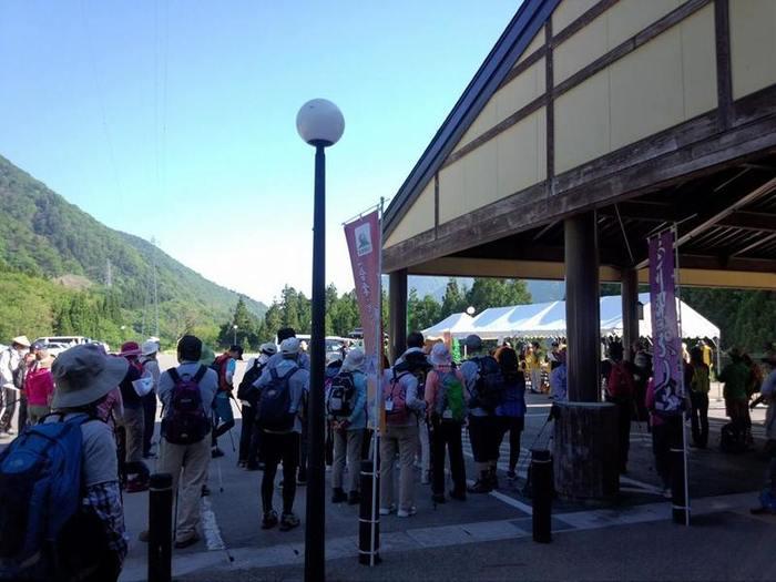 白川郷 平瀬温泉 大白川渓谷ウォーキング2014 本日6月1日(日)開催されました! ①