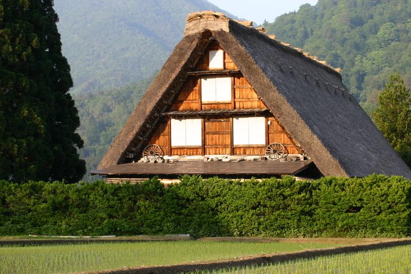 新緑から初夏へと季節は移り本格的な夏の訪れを静かに待つ季節~世界遺産 白川郷~ ①