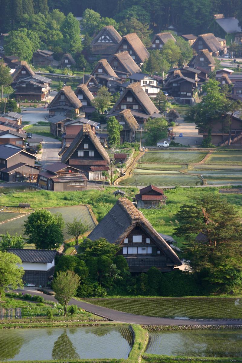 新緑から初夏へと季節は移り本格的な夏の訪れを静かに待つ季節~世界遺産 白川郷~ ③